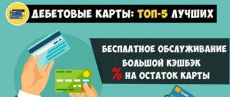 Рейтинг дебетовых карт с кэшбэком