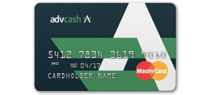 Платежные карты Advcash