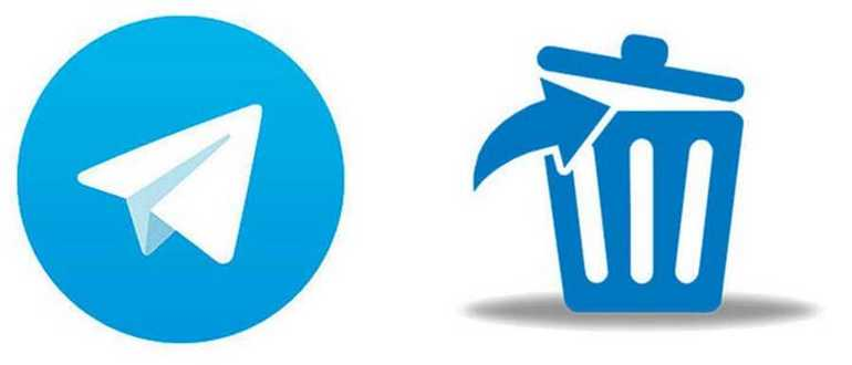 Как удалиться из Телеграмма