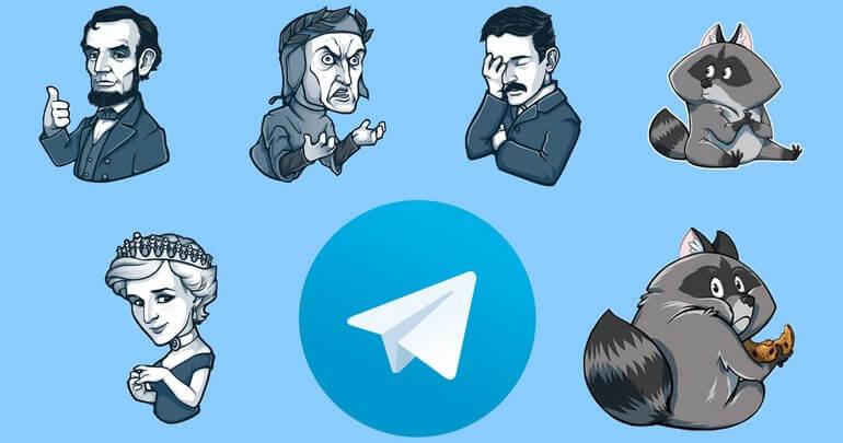Требования к стикерам Телеграмм