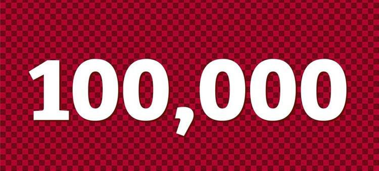 100 000 подписчиков